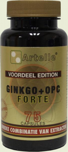 Ginkgo + OPC 75 capsules Artelle