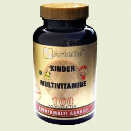 Kinder multivitamine 100 kauwtabletten Artelle