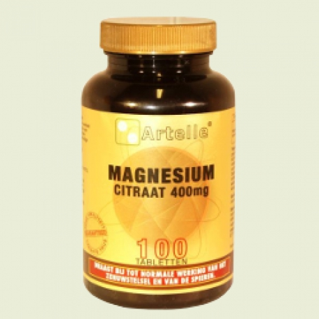 Magnesium citrate element 100 tablets Artelle