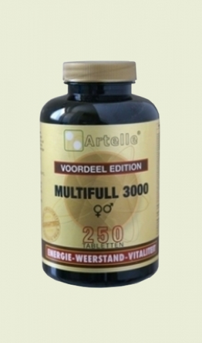 Multi Full 3000 250 tablets Artelle
