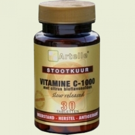 Vitamine c-1000 stootkuur 30 tabletten Artelle