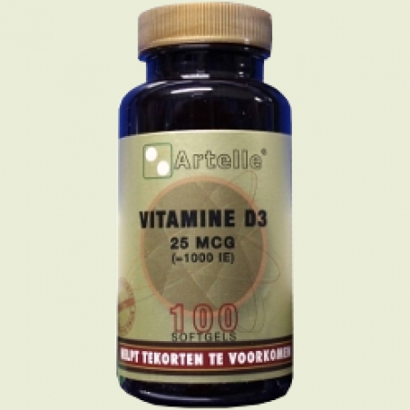 Vitamin D 25mcg 1000ie Artelle