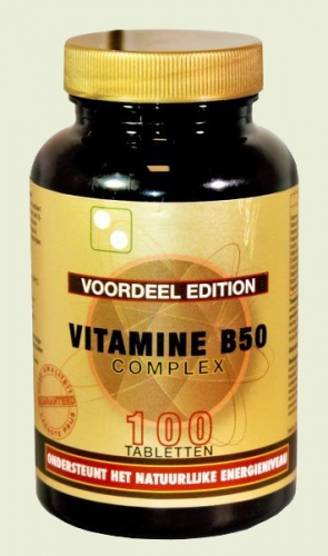 Vitamin B50 complex 100 tablets Artelle
