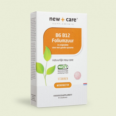 B6-b12 folic acid 60 tablets New Care