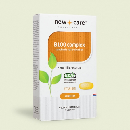 B100 complex 60 tablets New Care