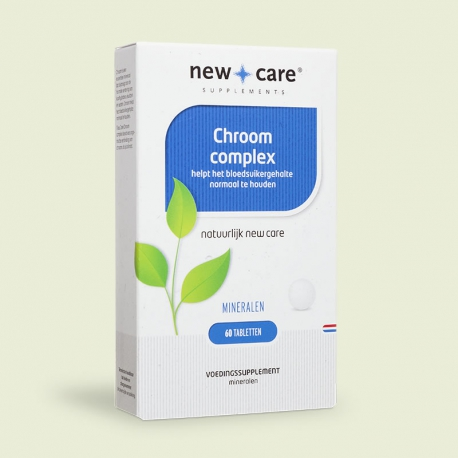 Chromium complex 60 tablets New Care
