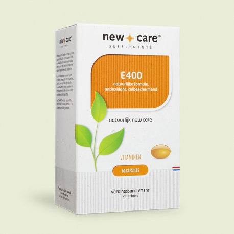 Vitamine E400 60 capsules New Care