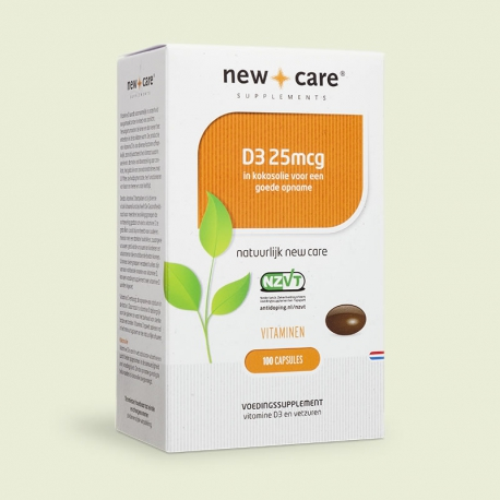 Vitamin D3 25mcg 100 Kapseln New Care