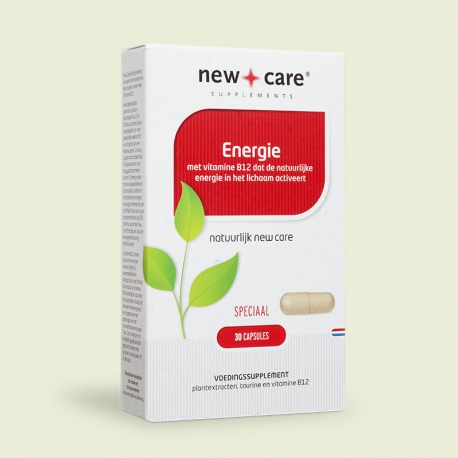 Energie 30 tabletten New Care