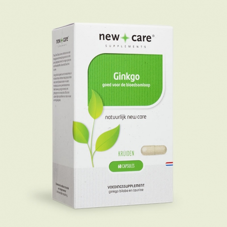 Ginkgo 60 capsules New Care