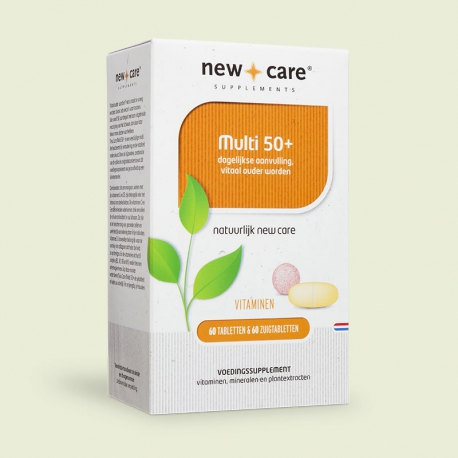 Multi 50+ 60 tablets + 60 lozenges New Care