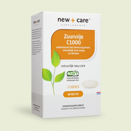 Zuurvrije vitamine C 1000mg New Care