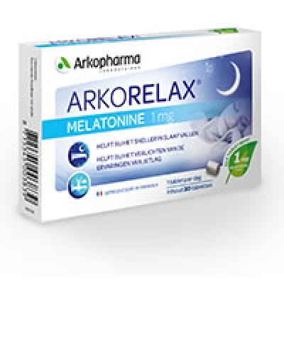 ArkoRelax Melatonin 1mg 30 Tabletten Arkopharma