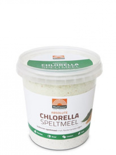 Absolute Chlorella épeautre pain 450g Pays-Bas Mattisson