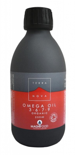 Omega 3-6-7-9 oil blend 250ml Terranova