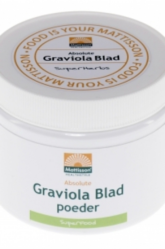 Absolute Graviola leaf powder 100g Mattisson