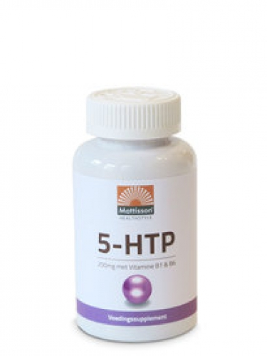 5-HTP 200 mg Vitamin B1 und B6 Mattisson