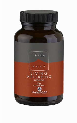 Living wellbeing super-blend 50 gram Terranova