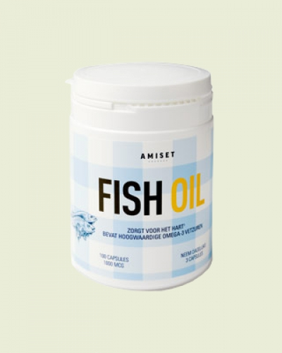 Omega 3 Fish Oil 100 softgels Amiset