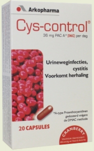 Cys-control cranberry capsules 20 Arkopharma
