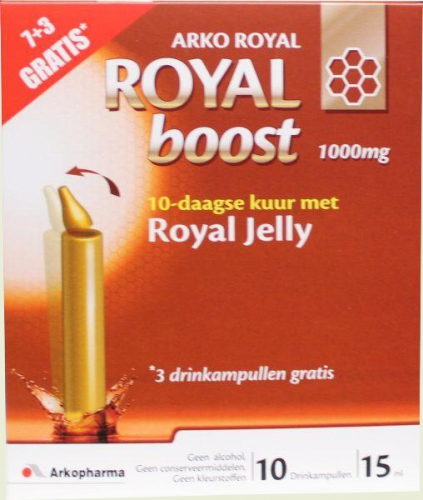Royal Boost 1000mg 7x 15ml vial Arkopharma