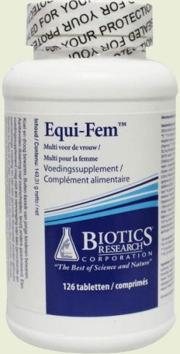 Equi fem 120 tablets Biotics