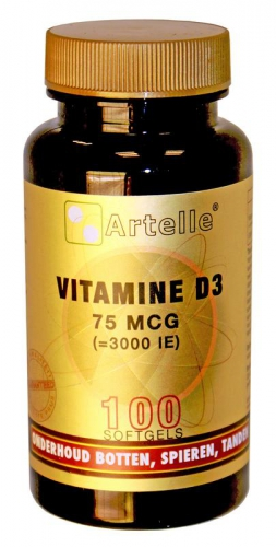 Vitamin D 75mcg 3000ie Artelle