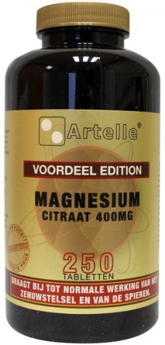 Magnesium citrate element 250 tablets Artelle