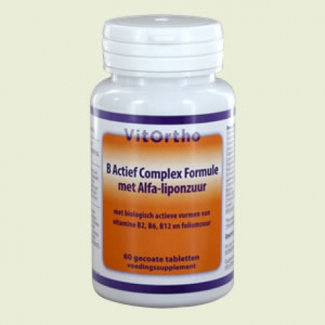 B Active complex formula with alpha-lipoic acid 60 tablets Vitortho