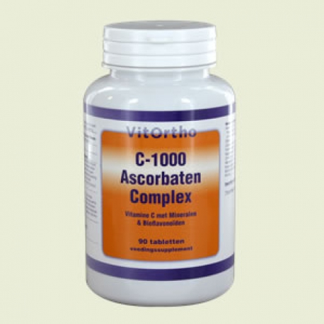 Mineral ascorbate C 90 tablets NOW