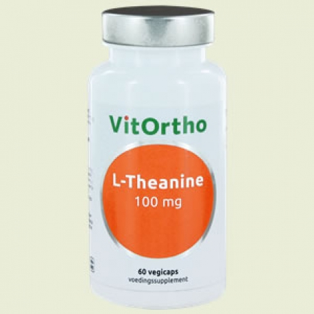 L-Theanine 100 mg 60 v-capsules Vitortho