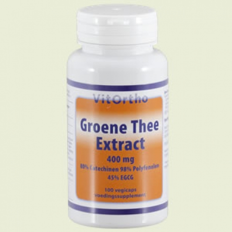 Green tea extract 400mg 100 capsules Vitortho
