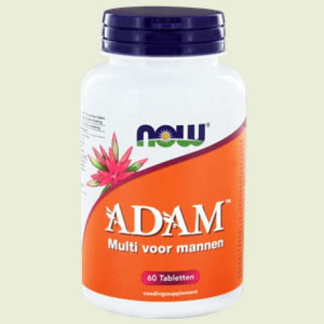 ADAM multivitamine 60 tabletten NOW