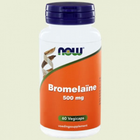Bromelaine 500mg 60 tabletten NOW