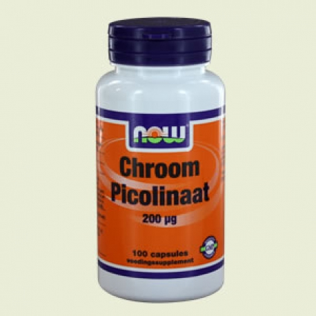 Chromium picolinate 200mcg 100 Capsules NOW