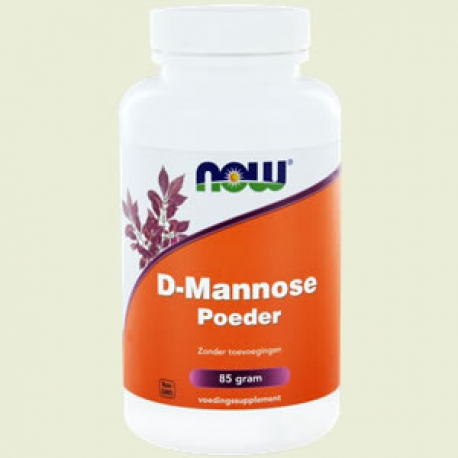 D Mannose 500mg Pulver 85 Gramm NOW
