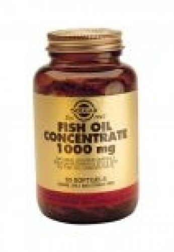 Fish oil concetrate 1000mg solgar