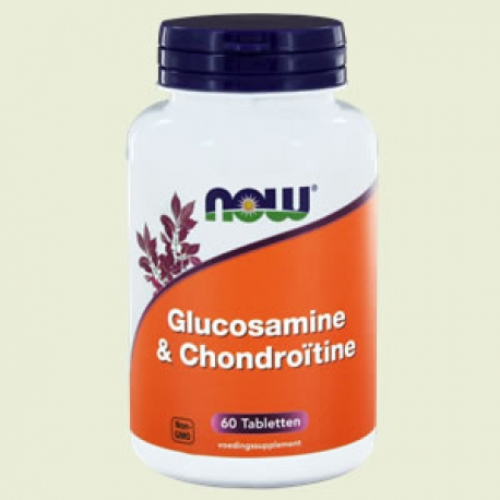 Glucosamine & chondroitine 60Tabletten NOW