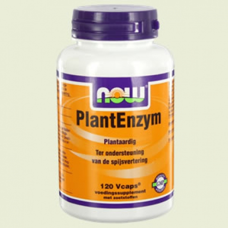 Plant enzymes 120vc NOW
