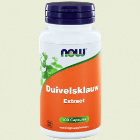Duivelsklauw devils claw 500mg 100 capsules NOW