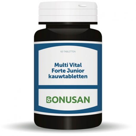 Multi Vital Junior chewable tablets Bonusan