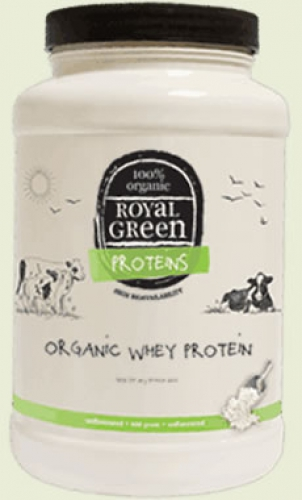 Whey Protein Organic Royal Green