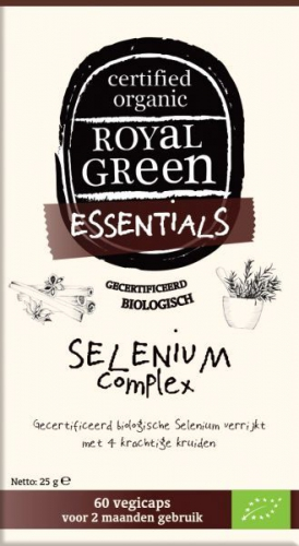 Selenium complex Royal Green