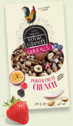 Cereals power fruit crunch Royal Green