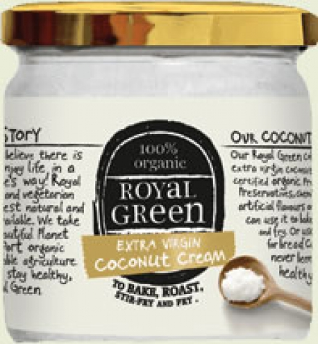 virgin coconut oil ex Royal Green