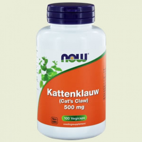 Kattenklauw (Cats claw) 500mg 100 capsules NOW