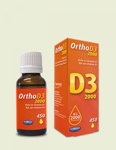 Ortho D3 2000ie druppels 20ml Orthonat