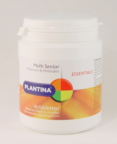 Plantina fit multi vitamine senior