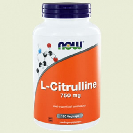 L-Citruline 750mg 180 capsules NOW