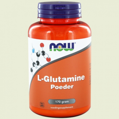 L Glutamine Powder 170g NOW